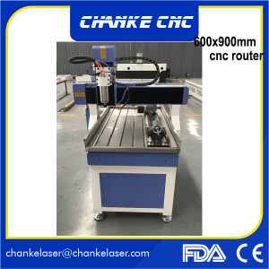 Samll Woodworking CNC Routers Machine for Brass Alumnium Stone pictures & photos