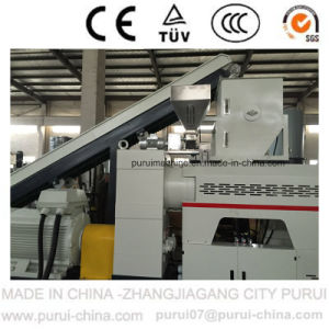 Single Screw Plastic Pelletizing Extruder with Capacity 500kg Per Hour pictures & photos
