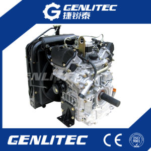 19HP V-Type Twin Cylinder Diesel Engine (Changchai EV80) pictures & photos