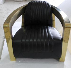 Gold Armrest Arm Chairs Hotel Gold Aviator Chairs pictures & photos