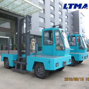 3 Ton Mini Side Loader Electric Forklift for Sale pictures & photos