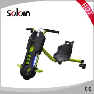3 Wheel Kids Foldable 360 Electric Scooter Drift Tricycle Cart (SZE100S-2) pictures & photos