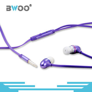 Hot Selling 3.5mm Wired Earphone Mobile Headset with Mic pictures & photos