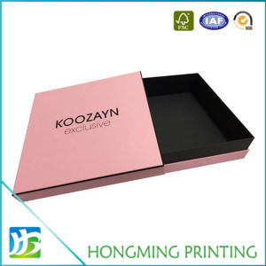 Luxury Logo Embossed Cardboard Chocolate Packaging Box pictures & photos