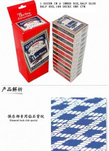 No. 966 Casino Poker Paper Playing Cards pictures & photos