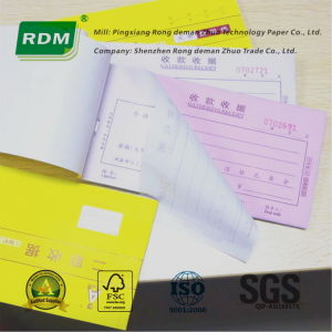 Customized Receipt Book Made From Woodfree Uncoated Paper or Carbonless Copy Paper pictures & photos