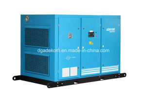 Two Stage Stationary Oil Industrial Air Screw Compressor (KE132-10II) pictures & photos