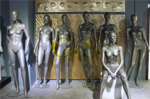 China Supplier of High Quality Fiberglass Female Mannequins (GS-DF-001G) pictures & photos