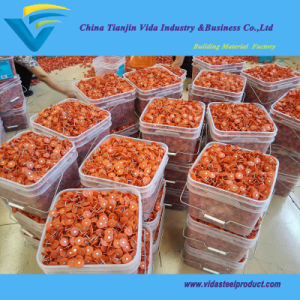 "2000PCS Bucket 1 3/4""USA Plastic Cap Nails pictures & photos"
