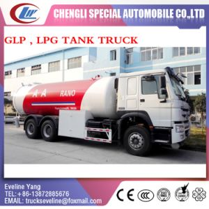 HOWO 20m3 GLP LPG Transportation Tank Truck for Sale pictures & photos
