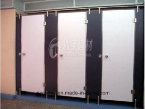 Custom Size Compact Public Toilet Cubicle Partition pictures & photos