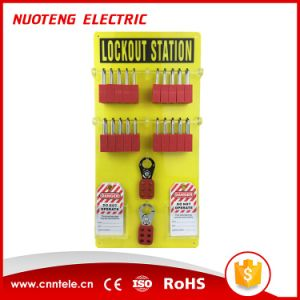 Acrylic Lockout Tagout Station pictures & photos
