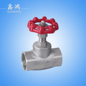 "304 Stainless Steel Globe Valve Dn25 1"" Made in China pictures & photos"