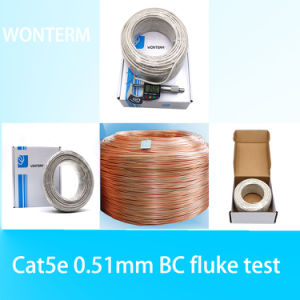 Round Telephone Cable in CCA pictures & photos