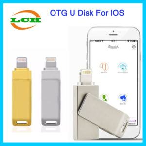 Hotselling OTG USB Flash Drive USB Disk for iPhone Laptop pictures & photos