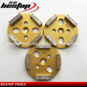 3 Inch 80mm Diamond Grinding Disc with 4 Bar Segments pictures & photos