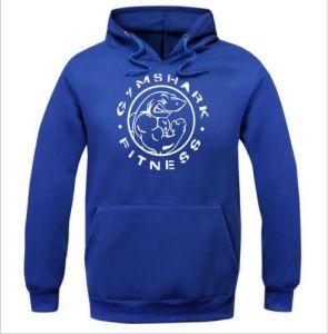 Men′s Blue Fleece Printing Muscle Sweatshirt (A590) pictures & photos