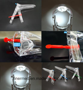 France Type LED Lighted Vaginal Speculum with Light Iluminator pictures & photos