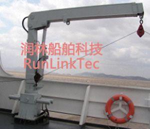 Hydraulic Knuckle Crane, Marine Crane pictures & photos