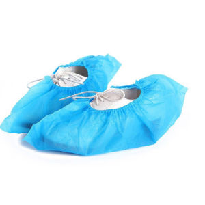 Disposable PP Non-Woven Shoe Cover pictures & photos