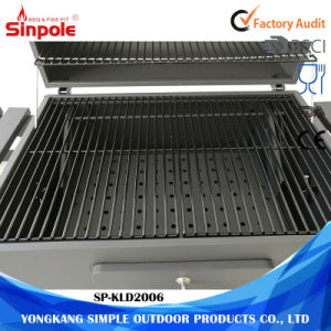 High-Temperature  Painted  Lid Black Outdoor Backyard Grill for BBQ pictures & photos