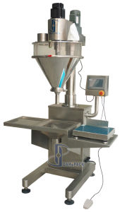China Semi Automatic Dry Powder Filling Machine pictures & photos