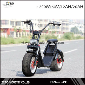 Newest High Collocation Electric Scooter 60V LED Light with Shock Absorber pictures & photos