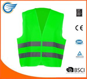 Hot Selling Safety Reflective Fluorescent Vest for Safety pictures & photos