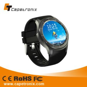 2016 Hot Selling Products of 3G 6580 SIM Card Bluetooth Smartwatch Silicone Smart Watch