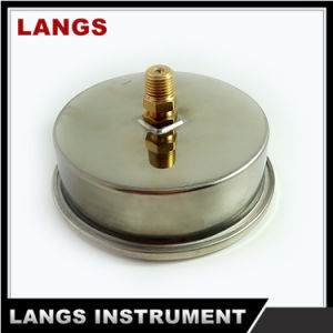 "015 4"" Auto Parts MPa Stainless Steel Brass Socket  Pressure Gauge pictures & photos"