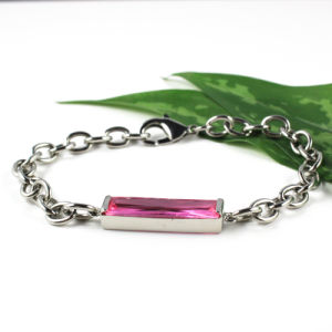 Natural Stone Bracelet with Stainless Steel pictures & photos