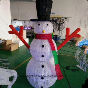 Lighting Project Waterproof Christmas Decoration LED Snowman Light pictures & photos