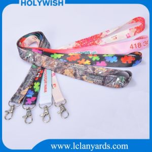 Gift Customized Polyester Lanyard Dry Heat Sublimation Printed pictures & photos
