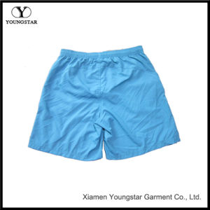 Blue Board Shorts Men′s Shorts Swim Trunks with Reflective Pockets pictures & photos