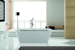 (K1552) Freestanding Acrylic Bathtubs / Massage Whirlpool Bathtubs pictures & photos