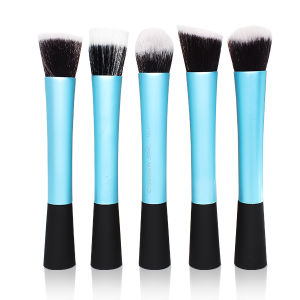 5PCS Big Professiona Foundation Powder Contour Blush Makeup Brushes Set pictures & photos