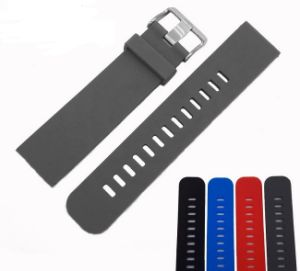 Waterproof Silicone Watch Band pictures & photos