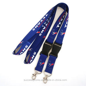 Promotion Custom Polyester Lanyards with Logo Printing pictures & photos