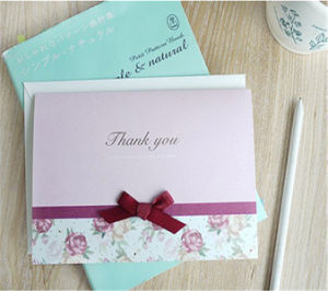 Custom Wedding Invitation Cards Paper Greeting Card Printing pictures & photos