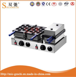 Hot Selling Temperature Control Commercial Walnut Waffle Crispy Machine pictures & photos