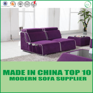 Chinese Wooden Furniture Sectional Fabric Sofa pictures & photos