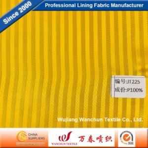 High Quality Polyester Dobby Fabric for Garment Lining Jt225