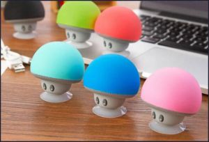 CE FCC Approved Mini Portable Mushroom Radio Bluetooth Speaker pictures & photos