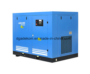 Electric Driven Lubricated Industrial Low Pressure Air Compressor (KD55L-3) pictures & photos