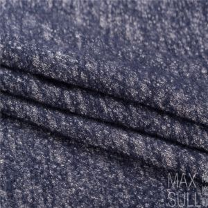 Wool/Cotton Fabric for Autumn/Winter in Navy pictures & photos