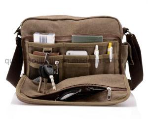 OEM Leisure Fashion Canvas Travel Shoulder Messenger Bag pictures & photos