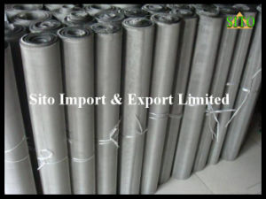 Stainless Steel 304/316 Woven Wire Mesh Rolls pictures & photos