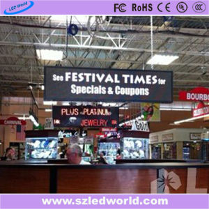P6 Full Color Indoor Hanging LED Display Message Board pictures & photos