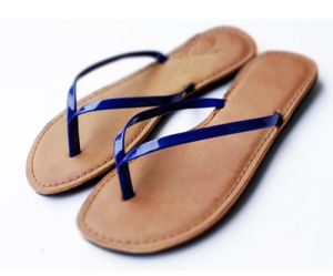 Flip Flops, Wholesale Fashion Black Flip Flop pictures & photos