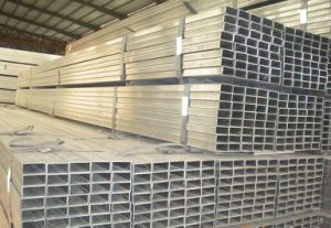 Hot Galvanized Square Steel Pipe pictures & photos